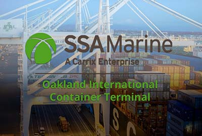 Image of port of oakland